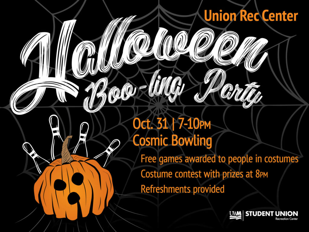halloween party in the rec center | student involvement