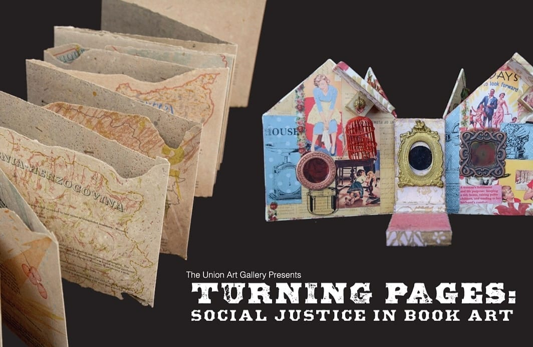 Details For Event 16044 – Turning Pages: Social Justice in Book Art