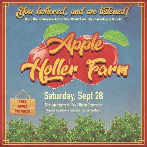 CAB apple orchard marketing
