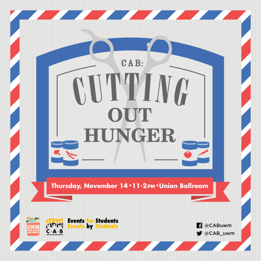 Campus Activities Board Cutting Out_Hunger Fall 2019