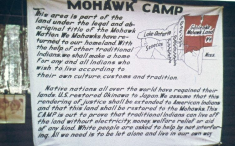 Details For Event 17341 – You Are on Indian Land / Mohawk Nation