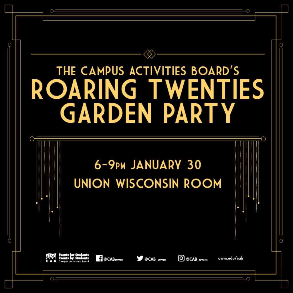Details For Event 17631 – Roaring 20's Party