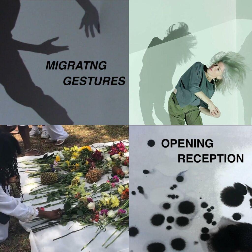 Details For Event 19082 – Migrating Gestures Exhibition Opening Reception (virtual)