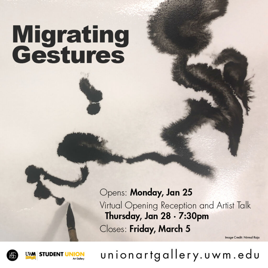 Details For Event 19052 – Migrating Gestures Exhibition