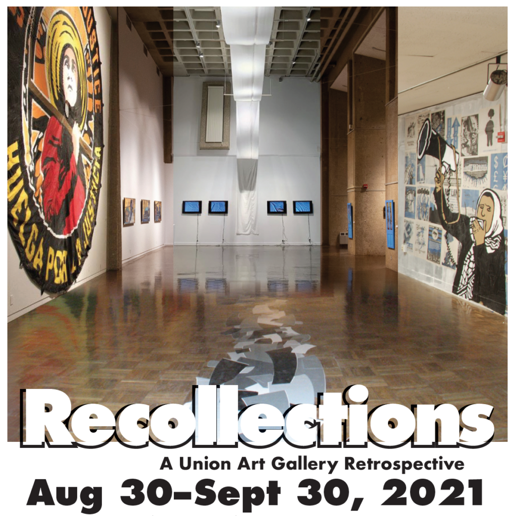Details For Event 20083 – ReCollections: A Union Art Gallery Retrospective