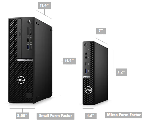 optiplex form factors