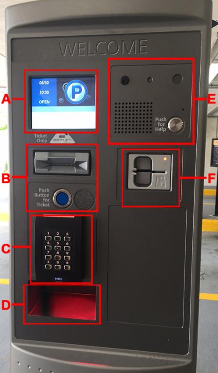 Garage Pay Station   UWM Transportation Services