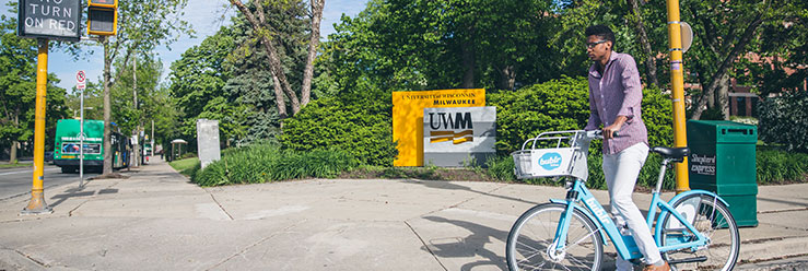 Bublr Bikes at UWM