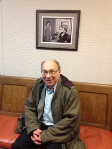 Professor Robert Schwartz at the JS building