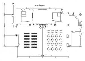 Ballroom Floor Plan