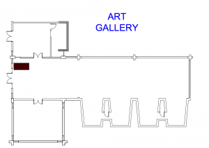 Art Gallery Floor Plan