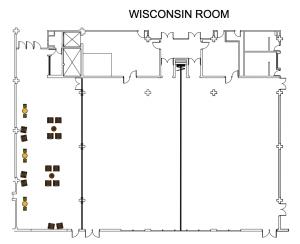Wisconsin Room Floor Plan