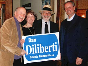 Edward jj Olson, Ann Greer, John Palmer Smith and Daniel Diliberti