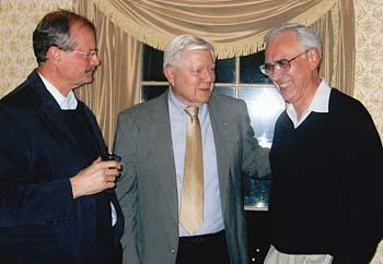 Daniel Diliberti, Bob Brunner, and Dan Patrinos