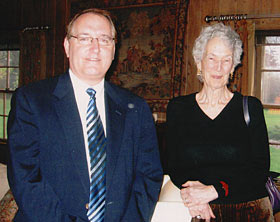 CUIR Director Steve Percy and Distinguished Professor Emeritus Joan Moore