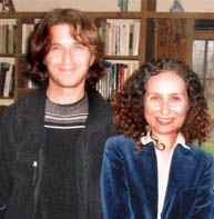 Ozgur Acvi (current student) and Arlene Zakhar