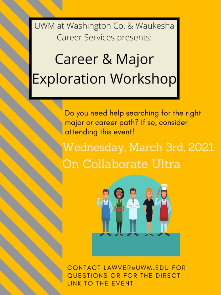 career and major workshop