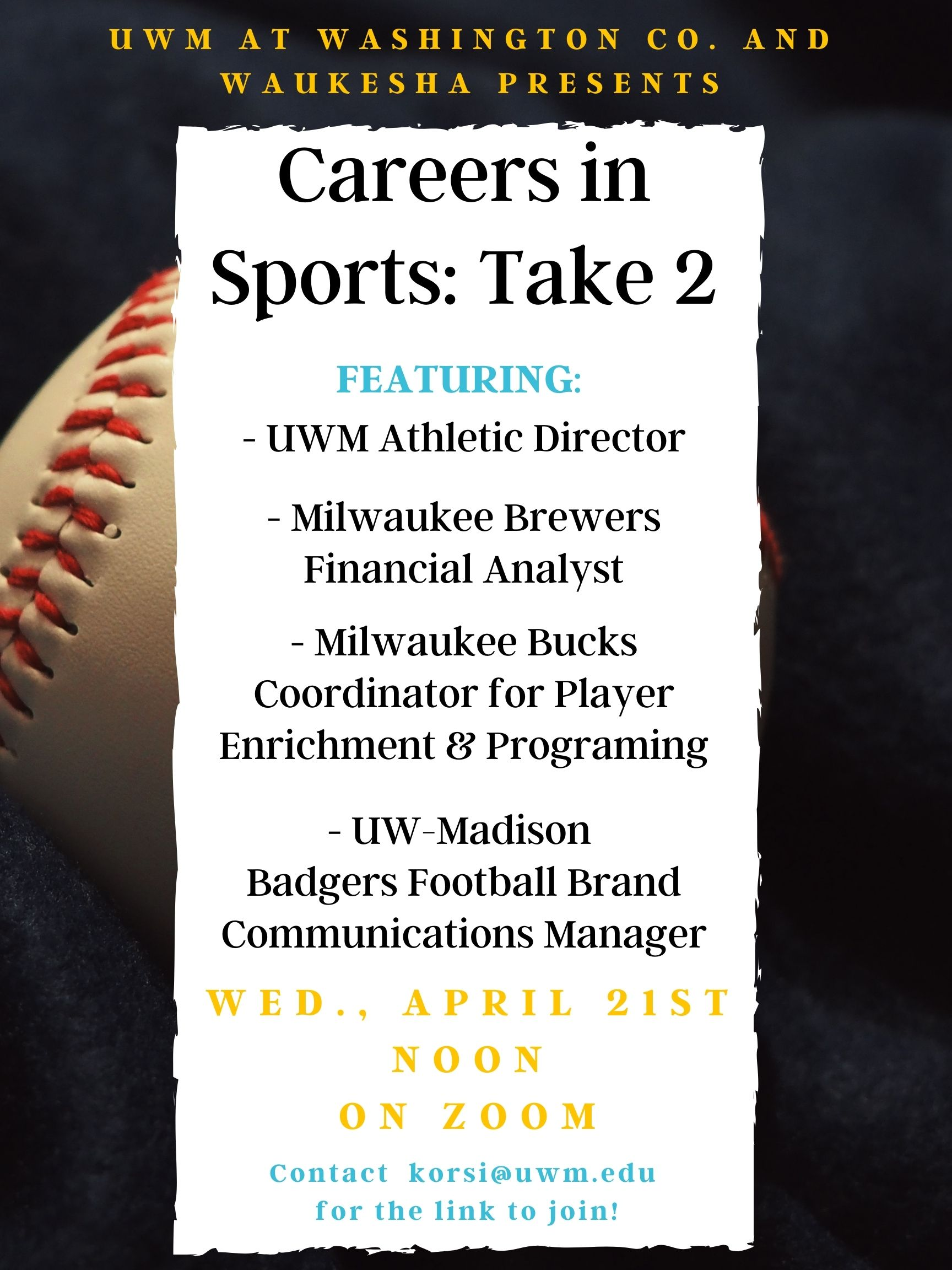 careers in sports