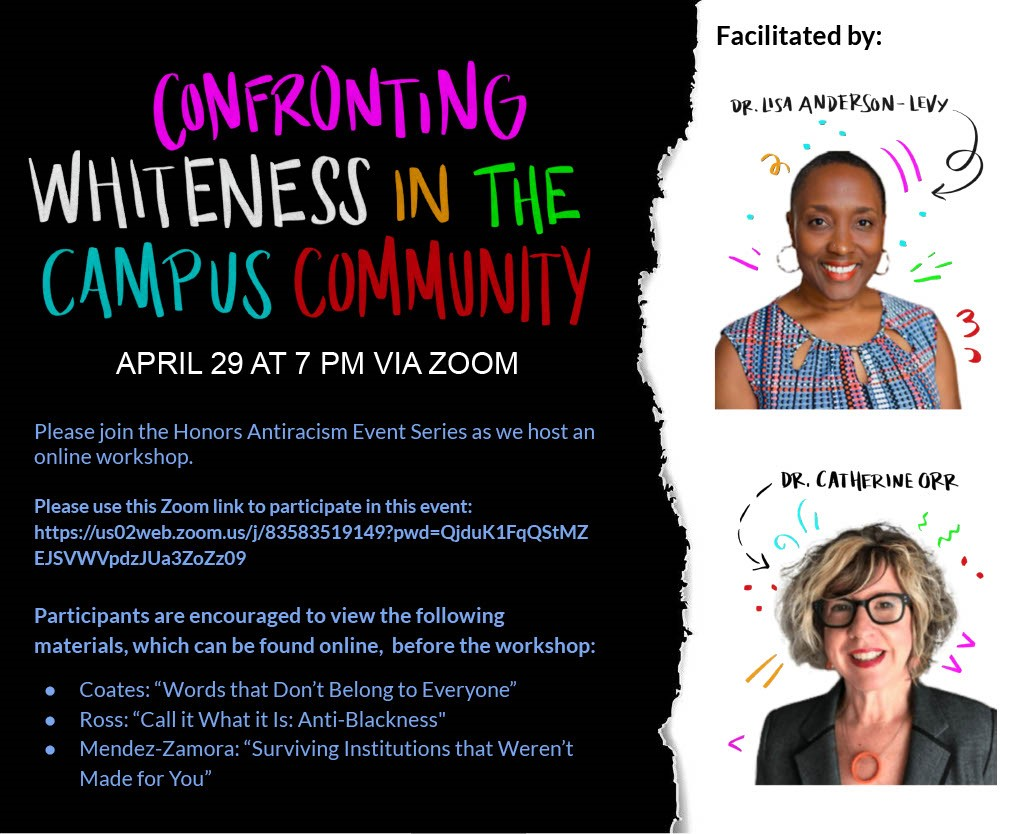 confronting whiteness in the campus community