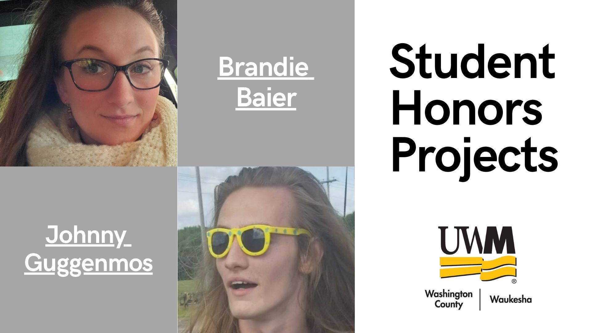 student honors projects