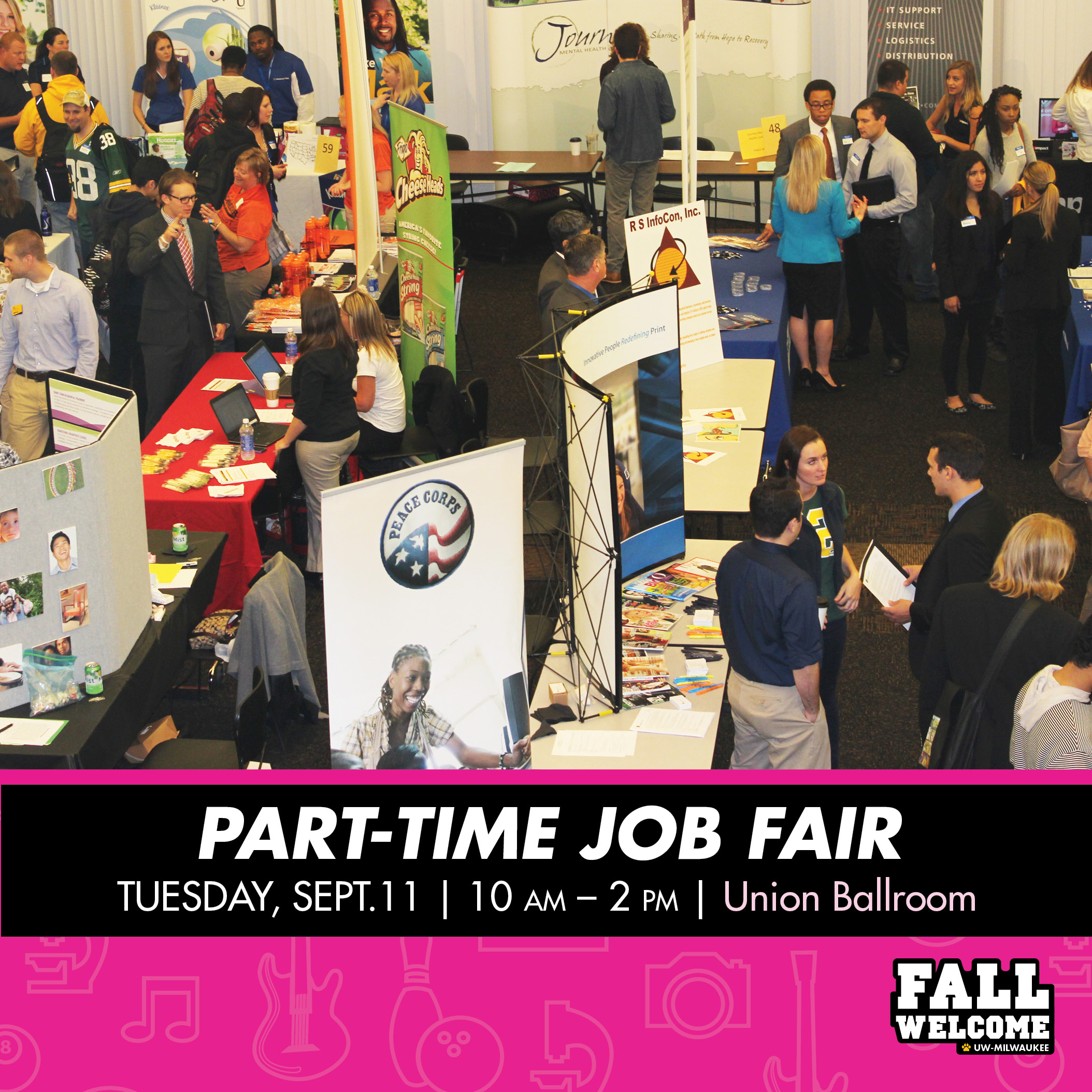 Fall 2018 Part Time Job Fair