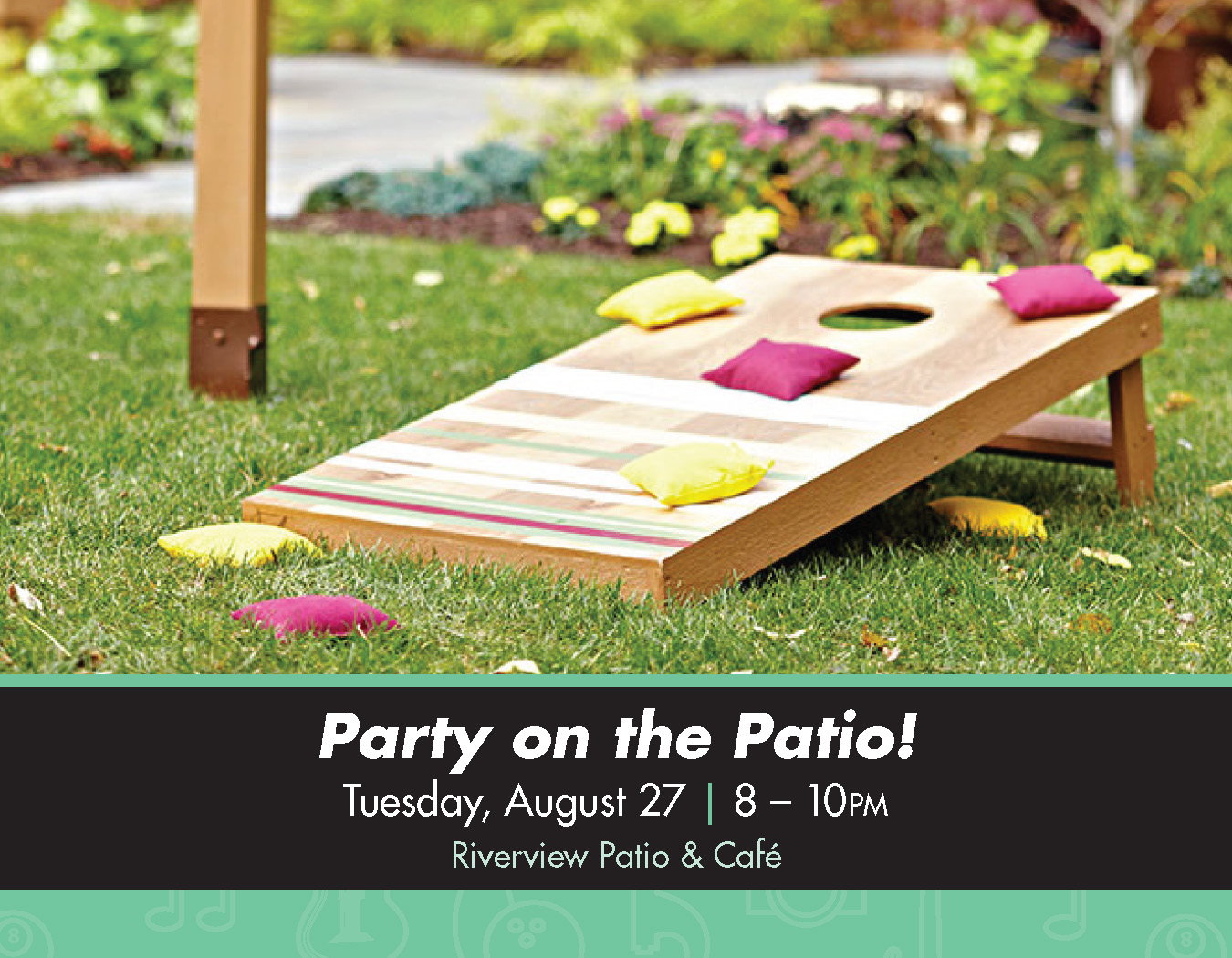 Details For Event 16160 – Party on the Patio