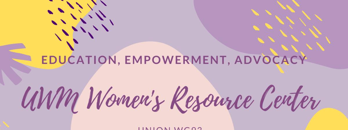 Education, Empowerment, Advocacy: Women's Resource Center, Union WG93